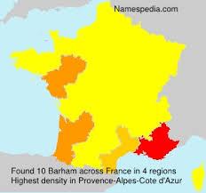 Barham - Names Encyclopedia