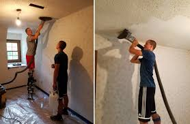 popcorn ceiling removal diy methods