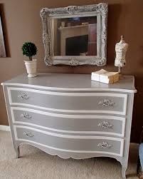 grey and white furniture. i painted in annie sloanu0027s paris grey and pure white sealed with clear wax furniture t
