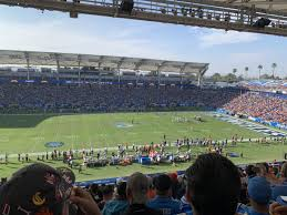 La Chargers Seating Chart Dignity Health Sports Park Section 233 Los Angeles