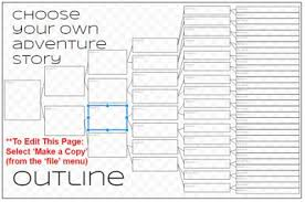Choose Your Own Adventure Story Template Bonding Through Blogging 2016