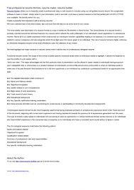 Resume Builder Online Free Download Resume Builder Online Free Download Line Resume Maker Free Cvmkr 84