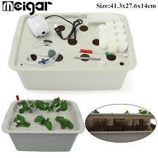 diy grow garden nursery pot hydroponic system with 11 site 220v lid basket cups home