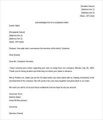 Acknowledgement Of Letter Received 39 Acknowledgement Letter Templates Pdf Doc Free