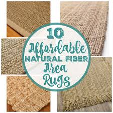 affordable natural fiber area rugs