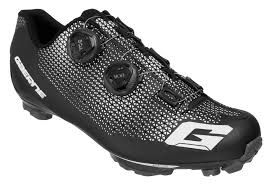 Pair Of Gaerne G Kobra Mtb Shoes With Black Carbon Sole