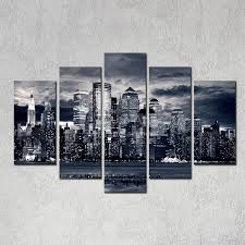 2018 modern home decor new york city painting black white digital picture print on canvas art panel for wall decoration from utoart 14 56 dhgate com