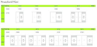sliding door width sliding door dimensions standard sliding door designs standard sliding glass door sizes co