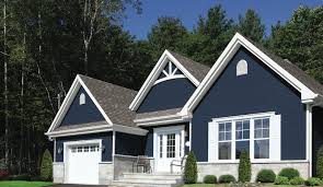 Classic Deep Blue Home Get The Look With DunnEdwards Old Mill - Dunn edwards exterior paint colors