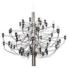 gino sarfatti 2097 chandelier by arteluce