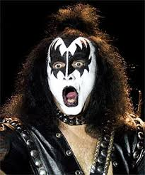 gene simmons kiss makeup. makeup by kiss in the words of gene simmons kiss (