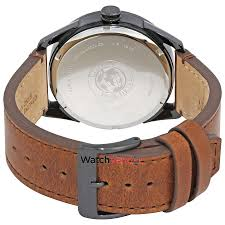 citizen cto black dial men s brown leather watch bu4025 08e 3 3 of 3 see more