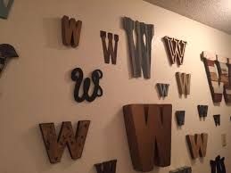 corrugated tin letter