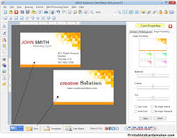 card maker template business cards maker business cards maker software designs printable
