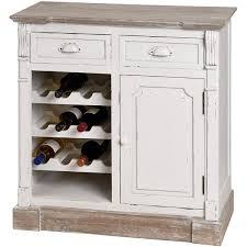 white wine rack cabinet. Distressed White Kitchen Cabinets | Shabby Chic Cabinet With Wine Rack