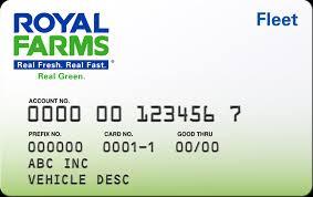 exle of fleet card