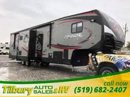 2016 forest river vengeance 320a toy hauler fifth wheel