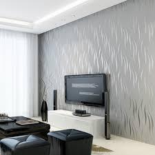 Tuscom Silver 3D Non-woven Wave Stripe ...