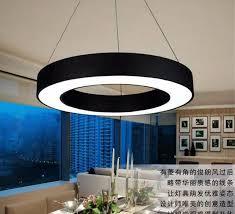 office chandelier lighting. Interesting Lighting LED Acrylic Office Chandelier Shaped Hollow Circle Led Office  Lighting Fixture Chandelier Lamps On Lighting F