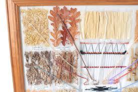 Navajo Dye Chart Wall Native American Art Craft Framed Navajo Dye Chart Large Ij25