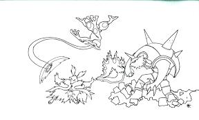 Dessin A Imprimer Gratuit Pokemon Mega Evolution
