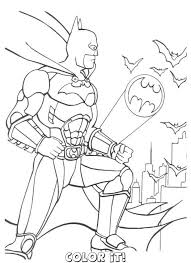 Small Picture Printable Coloring Pages Of Batman Coloring Pages