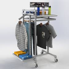 Apparel Display Stands Clothing Display Racks Retail Clothing Fixtures Creative 91