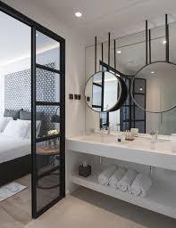Glastür Zum Bad Für Mehr Licht In Ankleide Bad Badezimmer