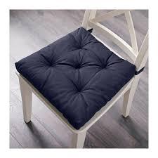 MALINDA Chair cushion Blue 40 35x38x7 cm IKEA