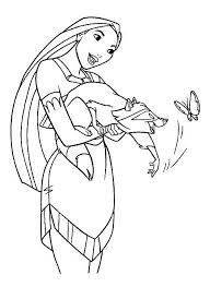 Small Picture 67 best Malebog Pocahontas images on Pinterest Coloring books