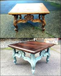 coffee table redo ideas best side on makeover chalk paint glass