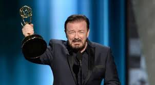 Emmy Awards 2015: Twitter loved Ricky Gervais pretending to win an award  (and faking tears!) - BT