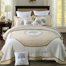 100 cotton bedspreads. Exellent Cotton 100Cotton Bedspread Embroidery Quilt White Bed Cover Set Super Soft  Bedspreads King Size Wholesale On 100 Cotton O
