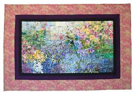 Tropical Lens | Art Quilts in the Impressionist Style | Marien Grace & Tropical Lens Adamdwight.com