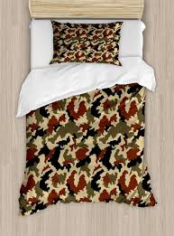 military camo bedding sets camouflage duvet cover set twin size by ambesonne pixel art