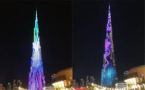 Burj Khalifa Light Show Timings New Burj Khalifa Light Show Launches In May Insydo