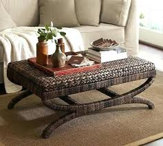 pottery barn coffee table decor metropolitan round espresso furniture inspirational