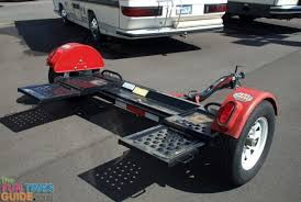 choosing the right rv tow dolly so you can tow a car behind your dinghy towing harness at Wiring Tow Vehicle Behind Rv
