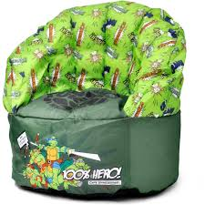 Ninja Turtle Bedroom Furniture Nickelodeon Teenage Mutant Ninja Turtles Bean Bag Chair Walmartcom