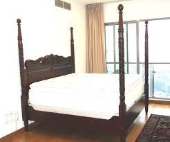four poster bedroom furniture. Teak 4 Poster Bed, Conlonial Bed Four Bedroom Furniture
