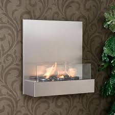 tate stainless steel glass wall mount fireplace free tate stainless steel glass wall mount fireplace