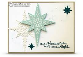 Stampin Up Star Of Light Cards Card Gorgeous Sparkly Star Of Light Card Stampin Up