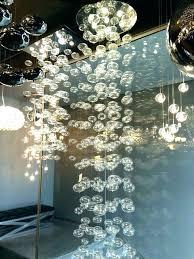 glass bubble chandelier 3 light iers ier opalescent within prepare instructions hand blown glass bubble chandelier