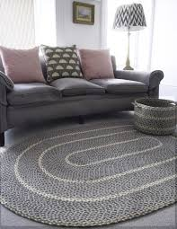 simple ideas oval rugs for living room double sided jute oval rug grey color for modern living room remodel