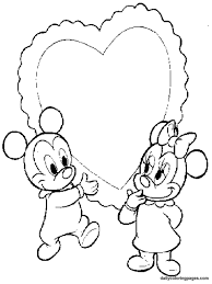 free printable coloring pages baby disney characters coloring