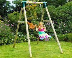 diy baby outdoor swing ideas wooden