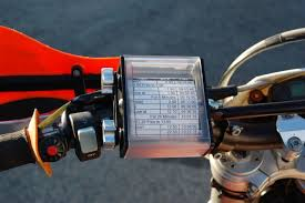 Countdown Roll Chart Holder Enduro Engineering Side Load Route Sheet Holder Black Dual Sport 14 053
