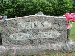 "Hugh Virgil ""Virgie"" Sims (1892-1960) - Find A Grave Memorial"