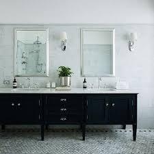 black bathroom vanity. stunning black bathroom vanity with white marble top m99 in home decor ideas