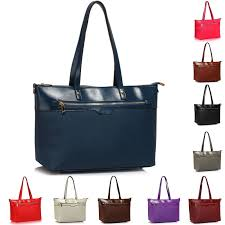 las shoulder handbags womens laptop bags faux leather tote extra large office design 1 black for